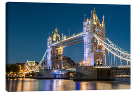 Canvas print  Tower Bridge, London - Markus Ulrich