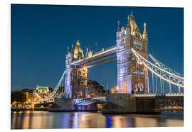 Foam board print  Tower Bridge, London - Markus Ulrich