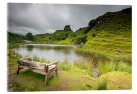 Acrylic glass  The Fairy Glen on Isle of Skye, Scotland - Markus Ulrich
