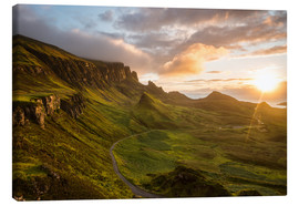 Canvas  The Quiraing, Isle of Skye, Scotland - Markus Ulrich