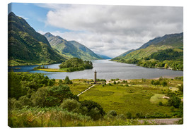 Canvas print  Glenfinnan Monument, Scotland - Markus Ulrich