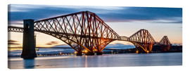Canvas print  Forth Bridge, Edinburgh, Scotland - Markus Ulrich