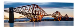 Foam board print  Forth Bridge, Edinburgh, Scotland - Markus Ulrich