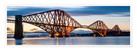 Premium poster  Forth Bridge, Edinburgh, Scotland - Markus Ulrich