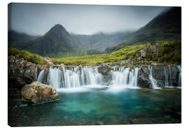 Canvas  The Fairy Pools, Glen Brittle, Skye, Scotland - Markus Ulrich