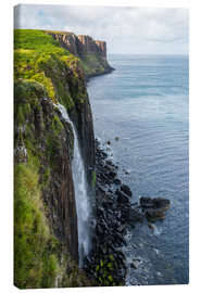 Canvas  Kilt Rock, Skye, Scotland - Markus Ulrich