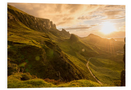 Foam board print  The Quiraing, Isle of Skye, Scotland - Markus Ulrich