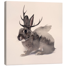 Canvas  wolpertinger - Peg Essert