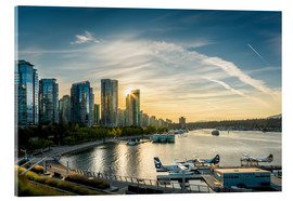 Acrylic print  Vancouver Harbour Flight Center - Andreas Kossmann