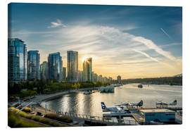 Canvas  Vancouver Harbour Flight Center - Andreas Kossmann