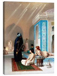 Canvas print  Bath in the harem - Jean Leon Gerome