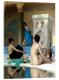 Acrylic print  After the bath - Jean Leon Gerome