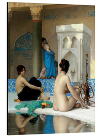 Aluminium print  After the bath - Jean Leon Gerome