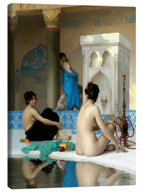 Canvas print  After the bath - Jean Leon Gerome
