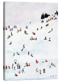 Canvas print  Toboggan or not toboggan, 1990 - Judy Joel