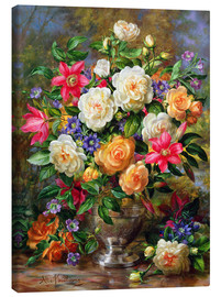 Canvas  Homage to the Late Queen Elizabeth - Albert Williams