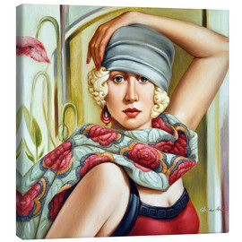Canvas print  Gray bell hat - Catherine Abel
