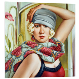 Catherine Abel - GREY CLOCHE
