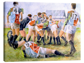 Canvas print  Rugby Match: Harlequins v Wasps, 1992 - Gareth Lloyd Ball