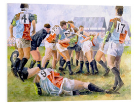 Foam board print  Rugby Match: Harlequins v Wasps, 1992 - Gareth Lloyd Ball