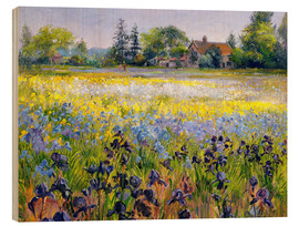 Wood  field of flowers - Timothy Easton