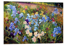 Foam board print  Flower bed - Timothy Easton