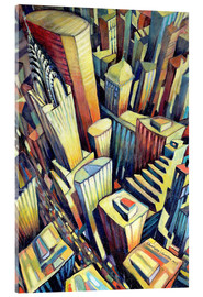 Acrylic glass  The Chrysler Building, 1993 - Charlotte Johnson Wahl