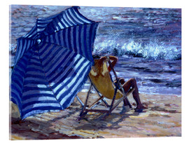 Acrylic print  The Parasol - Rosemary Lowndes