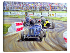 Canvas print  The First Race at the Goodwood Revival, 1998 - Clive Metcalfe