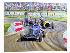 Foam board print  The First Race at the Goodwood Revival, 1998 - Clive Metcalfe
