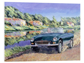 Forex  MGB by a French Canal - Clive Metcalfe