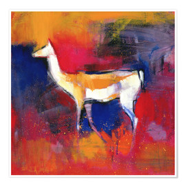 Premium poster foal, abstract