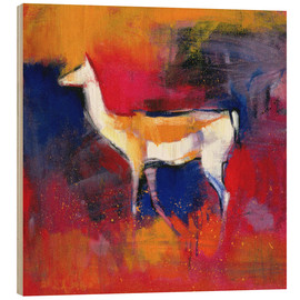 Wood print  foal, abstract - Mark Adlington