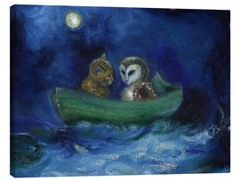 Canvas print  The Owl and the Pussycat - Nancy Moniz