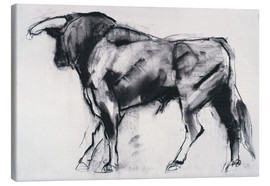 Canvas print  Bull - Mark Adlington