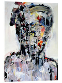Acrylic glass  Portrait of David Bowie, 1994 - Stephen Finer