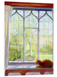 Forex  Cat in window in spring - Timothy Easton
