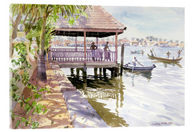 Acrylic print  The Jetty, Cochin - Lucy Willis