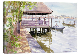 Canvas print  The Jetty, Cochin - Lucy Willis