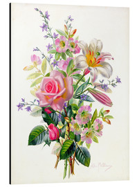 Aluminium print  A Pink Bouquet - Albert Williams