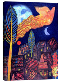 Canvas print  From the tree to the sky, 1998 - Peter Davidson