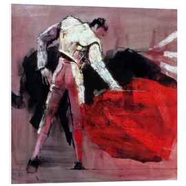 Foam board print  Torero - Mark Adlington