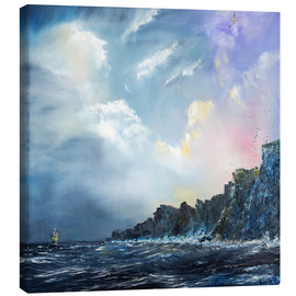 Canvas  North wind pictures, oil on canvas - Vincent Alexander Booth