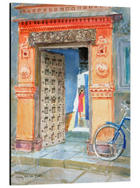 Aluminium print  In the Old Town, Bhuj - Lucy Willis