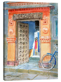 Canvas print  In the Old Town, Bhuj - Lucy Willis