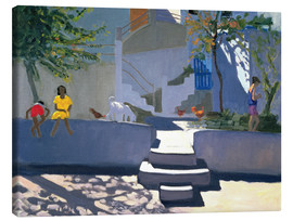 Canvas print  The Yellow Dress, Kos - Andrew Macara