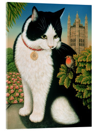 Acrylic print  Humphrey, the cat - Frances Broomfield