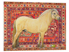 Foam board print  The Carpet Horse - Ditz