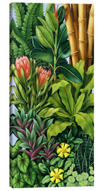 Canvas  FOLIAGE III - Catherine Abel