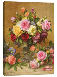Canvas print  Victorian Roses - Albert Williams
